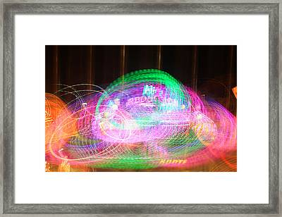 Alien Abduction Framed Print by Todd Breitling