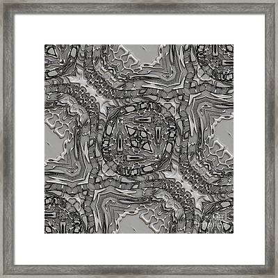 Alien Building Materials Framed Print