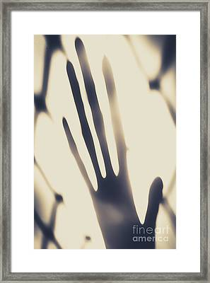 Alien Contact Framed Print