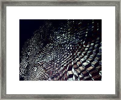 Alien Dark Edition Framed Print by Clark Grigg