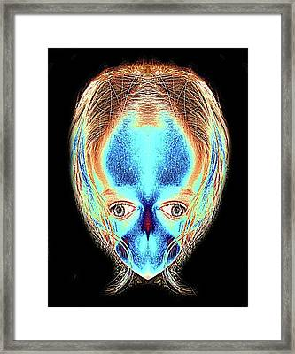 Alien Daughter Framed Print by Tisha Beedle