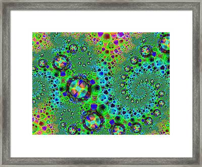 Alien Encounter Framed Print