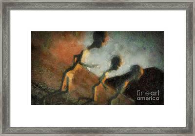 Alien Escape By Raphael Terra Framed Print
