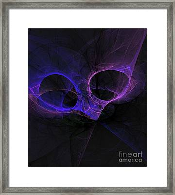 Alien Eyes Framed Print