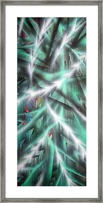 Alien Forest Framed Print by Leigh Odom