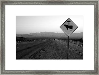 Alien Highway Framed Print by David Lee Thompson