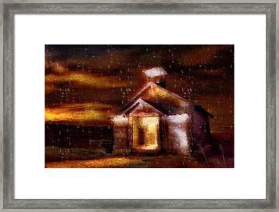 Alien Home Framed Print