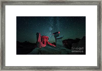Framed Print featuring the photograph Alien Landscape by Brian Spencer