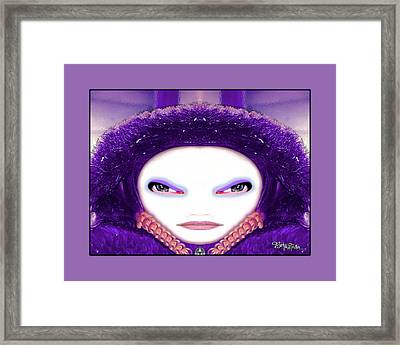 Framed Print featuring the photograph Alien Mom #194 by Barbara Tristan