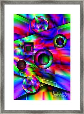 Alien Pinball Framed Print