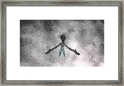 Alien Framed Print by Esoterica Art Agency