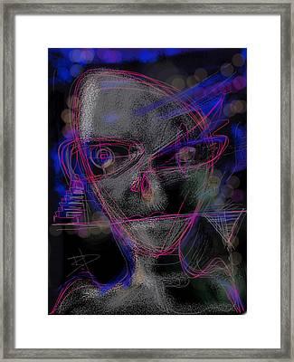 Alien Framed Print by Russell Pierce