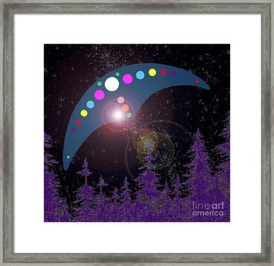Alien Skies Framed Print by James Williamson