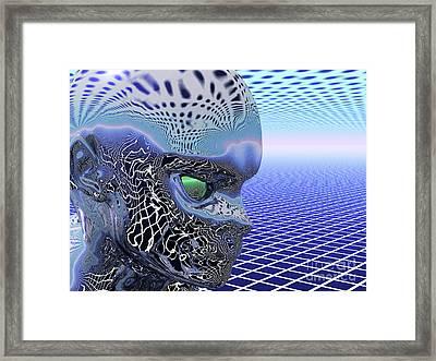 Alien Stare Framed Print