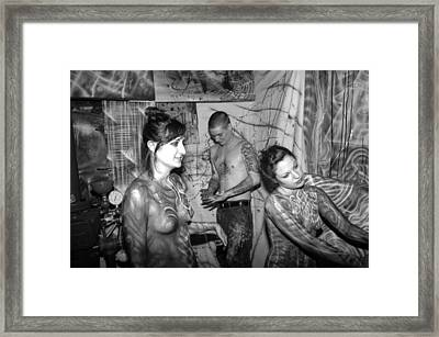 Alien Transformation Framed Print by Leigh Odom