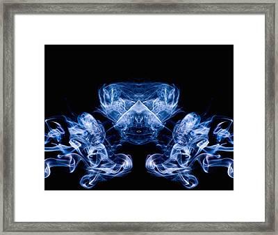 Alien Framed Print by Val Black Russian Tourchin