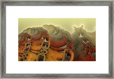 Alien Villus Framed Print