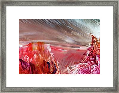 Alien World Framed Print by Angelina Whittaker Cook