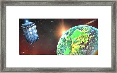 Alien Worlds Framed Print by Robert Radmore