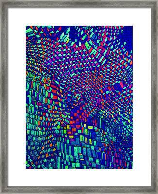 Alien Zoom In Framed Print by Clark Grigg