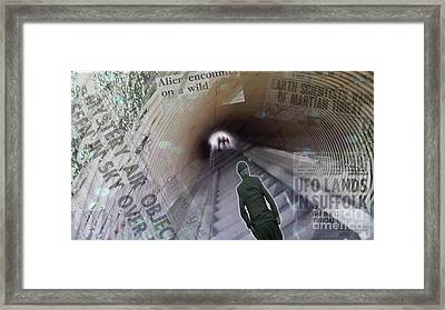 Aliens Framed Print by Jeff Breiman