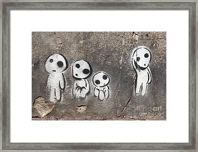 Aliens Framed Print by Michal Boubin
