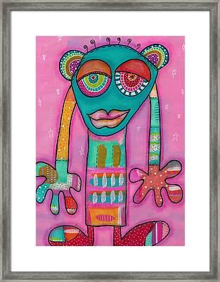 Aliens United-la Primatule Framed Print