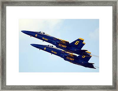 Aligned For The Future Framed Print by Aviation Heritage