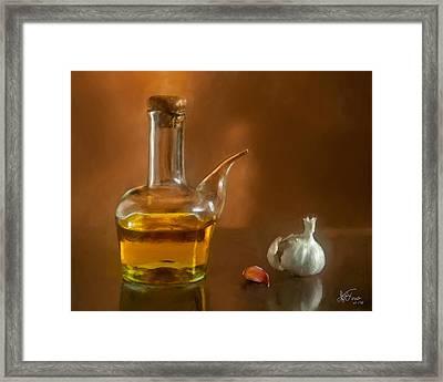 Alioli Framed Print