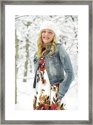 Alison Framed Print