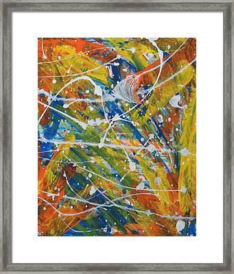 Alive Framed Print by Bethany Stanko