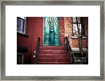 Alive In Park Slope Framed Print