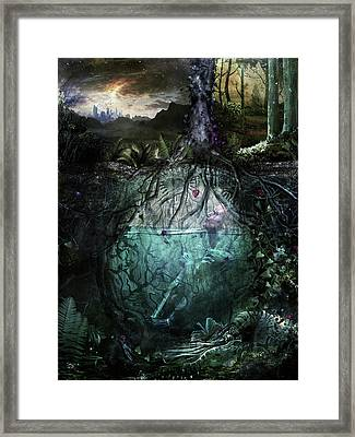 Alive Inside Framed Print by Cameron Gray
