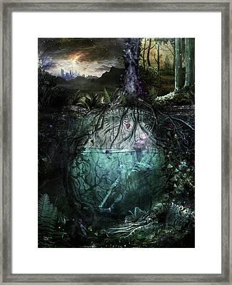 Alive Inside Framed Print