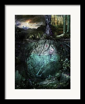 Art Therapy Framed Prints