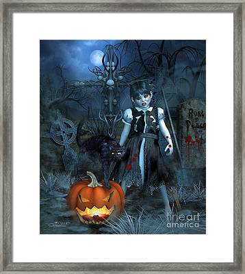 Alive Or Undead Framed Print