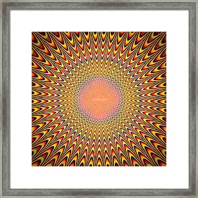 Alive Painting - Da Framed Print by Leonardo Digenio