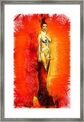 Alive Trophy - Da Framed Print by Leonardo Digenio