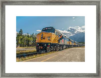 Framed Print featuring the photograph All Aboard 2009 by Jim Dollar