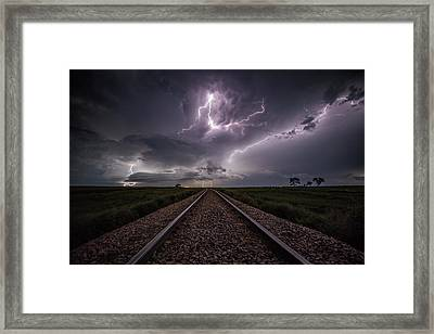 Framed Print featuring the photograph All Aboard  by Aaron J Groen