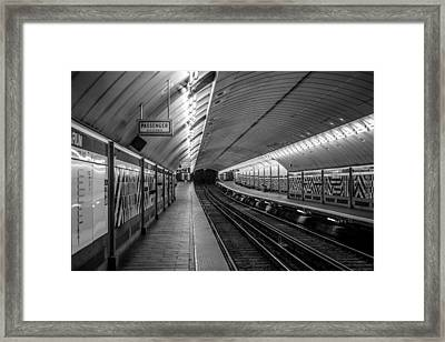 Framed Print featuring the photograph All Aboard by Jason Moynihan