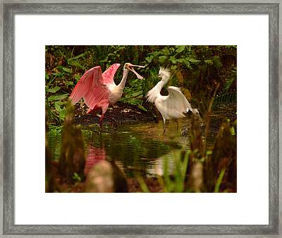 All About Food Framed Print by Jeffrey Hamilton