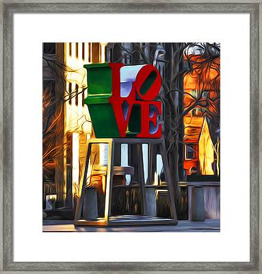 All About Love Framed Print by Bill Cannon