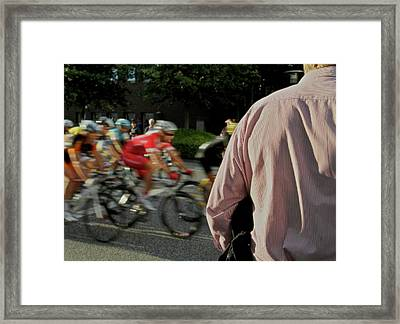 All About Speed Framed Print by Odd Jeppesen