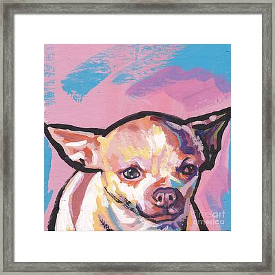 All About The Chi Framed Print by Lea S