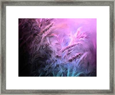 All About The Light Framed Print by Theresa Campbell