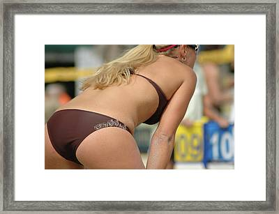 All About The Score Framed Print