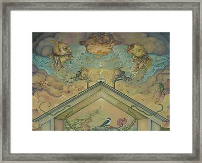 All Adrift Framed Print
