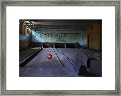 All Alone Framed Print by Luke Moore