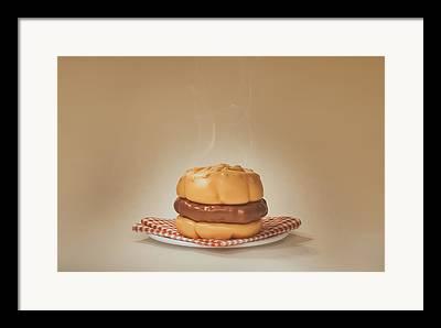 Burger Photographs Framed Prints